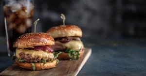 2 full stack burgers in Orangevale
