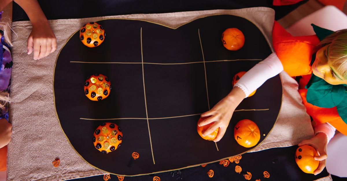 Pumpkin Tic-Tac-Toe